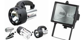 Picture for category Flashlights, lamps and projectors
