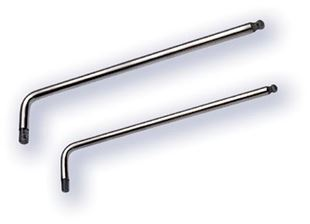 Picture of Allen key long with ball head  titanium 4 mm