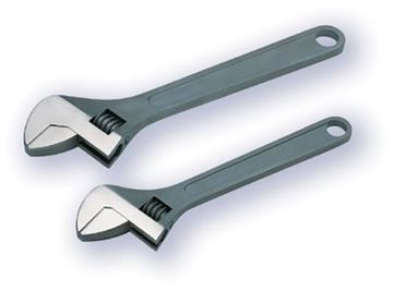 Picture of Adjustable wrench Stainless steel
