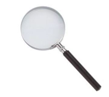 Picture of Magnifier with Metal Handle