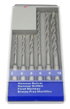 Picture of 6pcs SDS hammer drill set