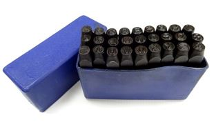 Picture of Letter punches Set 4 mm