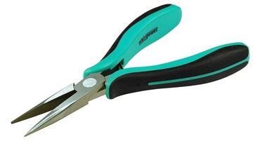 Picture of Mini Long Nose Pliers, Half -Round (with cutter), 115mm