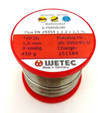 Picture of   Flux cored solder Pb 60Sn40