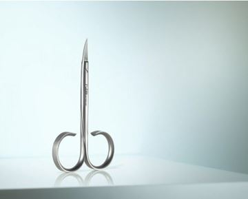 Picture of High-quality nail scissors made of prime stainless steel in a distinctive design