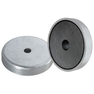 Picture of Ferrite Shallow Pot-Countersunk Mounting