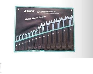 Picture of 14 PCS combination wrench set